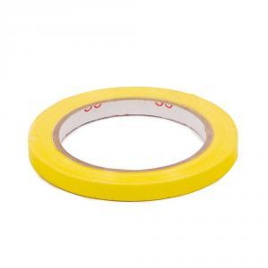 Výrobek: Lepiaca páska pre zatváranie sáčkov, šírka 9 mm, žltá