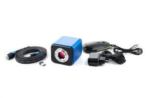 Smart mikroskopická kamera 2Mpix Autofocus, HDMI, USB, Wifi, sdcard s meracím SW