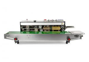 Kontinuálna zváračka fólií s dopravným pásom a atramentovou tlačou DBF-810SUS