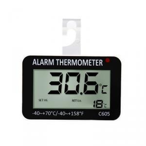 Malý závesný teplomer C605 pre kontrolu teploty v chladničkách a mrazničkách -40C ~ + 70C