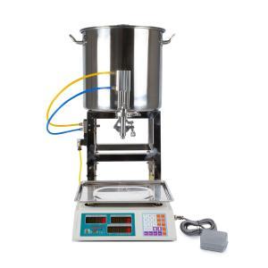 Poloautomatický váhový dávkovač - plnička kvapalín 20-5000g