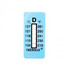 Samolepiaci teplomer / indikačný prúžok nereverzibilný  104-127°C