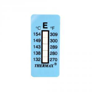 Samolepiaci teplomer / indikačný prúžok nereverzibilný  132-154°C
