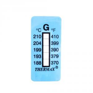 Samolepiaci teplomer / indikačný prúžok nereverzibilný   188-210°C