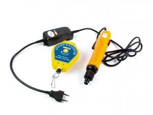 Ručný elektrický uťahovák skrutkovacích viečok 120W 1-5Nm + balansér