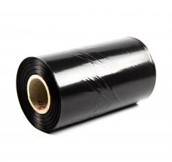 PE fólia hadica ČIERNA (tunel) sila 45micron, šírka 200mm, dĺžka 200m