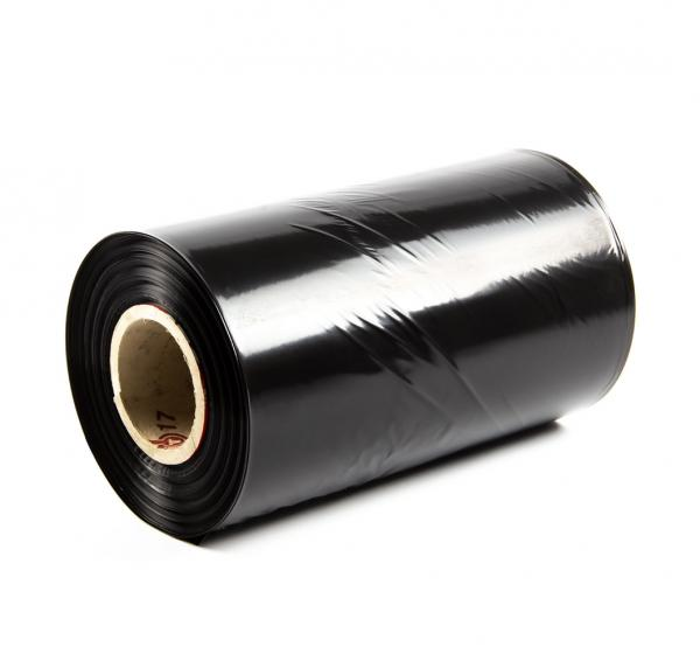PE fólia hadica ČIERNA (tunel) sila 45micron, šírka 250mm, dĺžka 10m