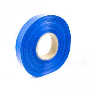 Modrá zmršťovacia PVC fólie 2: 1 šírka 20mm, priemer 12mm