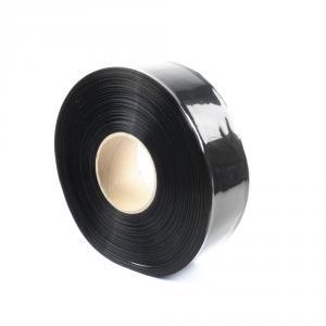 Čierna zmršťovacia PVC fólia šírka 50mm, priemer 30mm