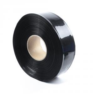 Čierna zmršťovacia PVC fólia 2: 1 šírka 60mm, priemer 36mm