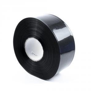 Čierna zmršťovacia PVC fólia 2: 1 šírka 70mm, priemer 42mm