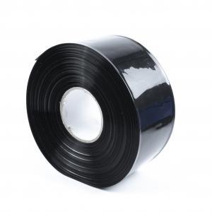 Čierna zmršťovacia PVC fólia 2: 1 šírka 80mm, priemer 49mm