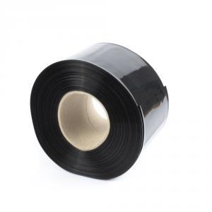 Čierna zmršťovacia PVC fólia 2: 1 šírka 90mm, priemer 55mm