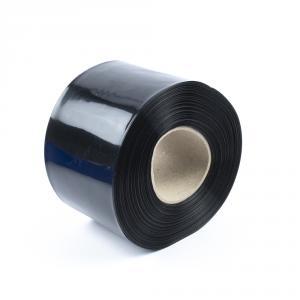 Čierna zmršťovacia PVC fólia 2: 1 šírka 100mm, priemer 61mm