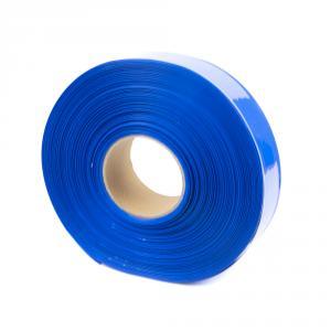 Modrá zmršťovacia PVC fólie 2: 1 šírka 40mm, priemer 24mm