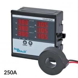 Priemyselný VA meter pre vstavanie 250A 2-500V