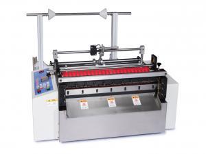 Priečna delička materiálov CXY-500G do šírky 500mm s optickou detekciou