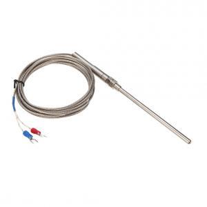 K-termočlánok 0 ~ 400 ℃ so závitom M8 a SS objímkou 100mm - dĺžka kábla 3m