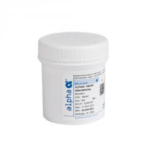 Olovnatý spájkovacia pasta Alpha OM-5300 62Sn / 36Pb / 2Ag 0,5kg