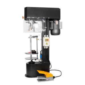 Poloautomatická zátkovačka na skrutkové hliníkové uzávery sklenených fliaš