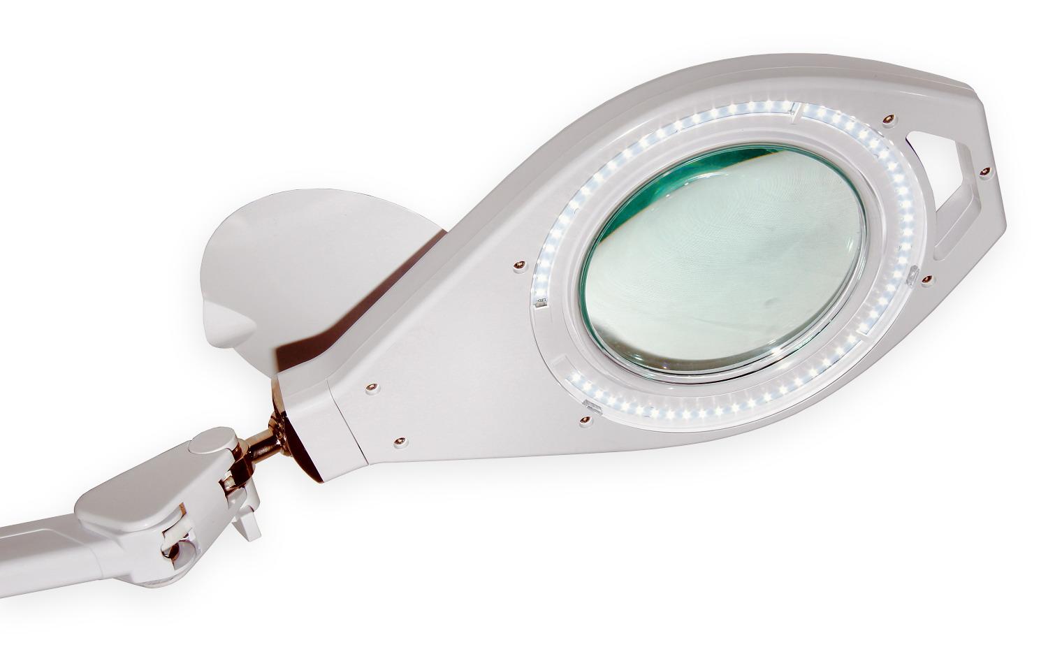 Stolná lampa s LED osvetlením typ LUX zväčšenie 8D