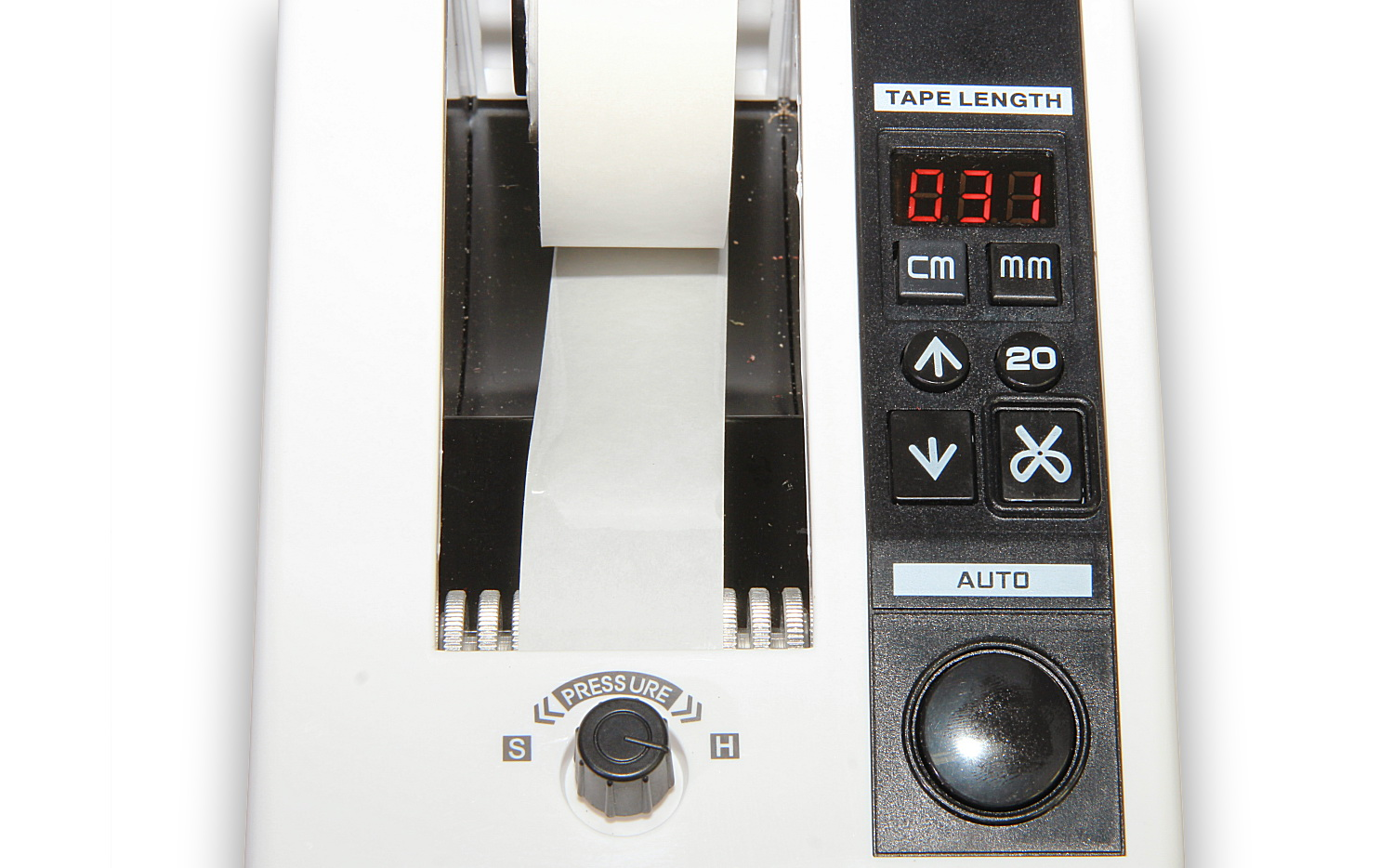 Automatický dávkovač lepiacej pásky - odvíjač a podávač lepiacej pásky typ M-1000
