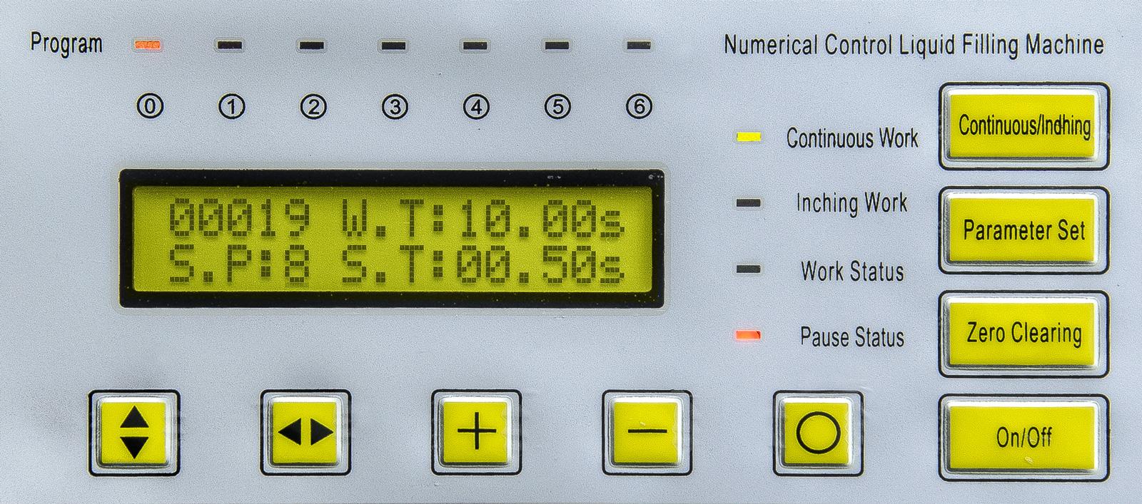 Automatický dávkovač kvapalín a plnička tekutín sa sacou pumpou GFK-160 10 - 3500ml