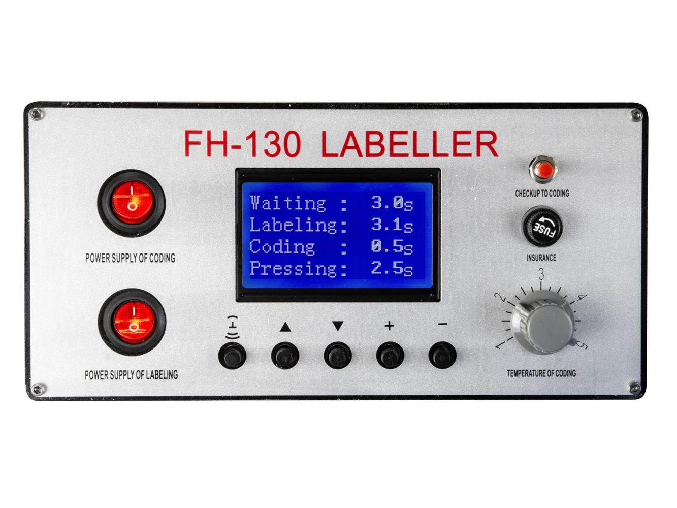 Automatická etiketovačka s tlačiarňou FH-130