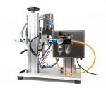 Stolová pneumaticko-elektrická zatváračka fliaš pre atypické viečka XLSGJ-6100