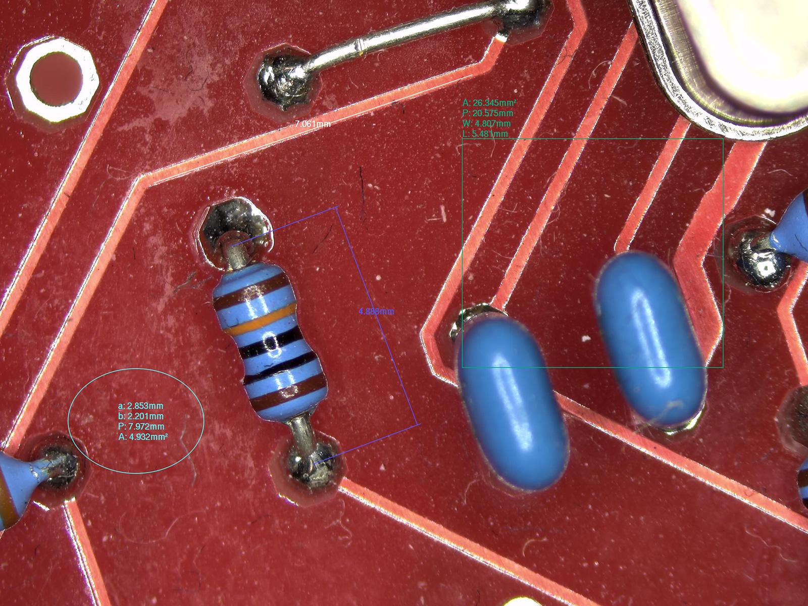 Smart Kamera pre mikroskopy s automatickým zaostrovaním 5Mpix, HDMI, USB, Wifi, Sd karta s meracím SW