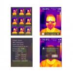 Profesionálna termokamera 30-45 ° C s výstupom pre PC a statívom UNI-T UTi165K