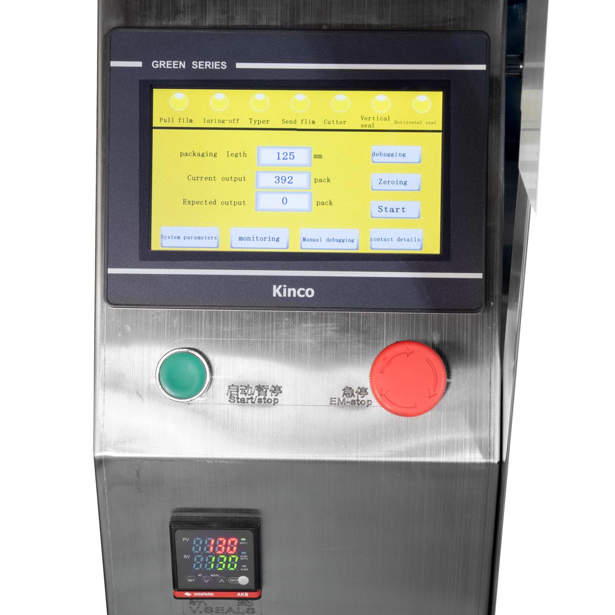 Automatický závitovkový dávkovač s baličkou pre práškové produkty LPF20L 1-125g 8L zásobník