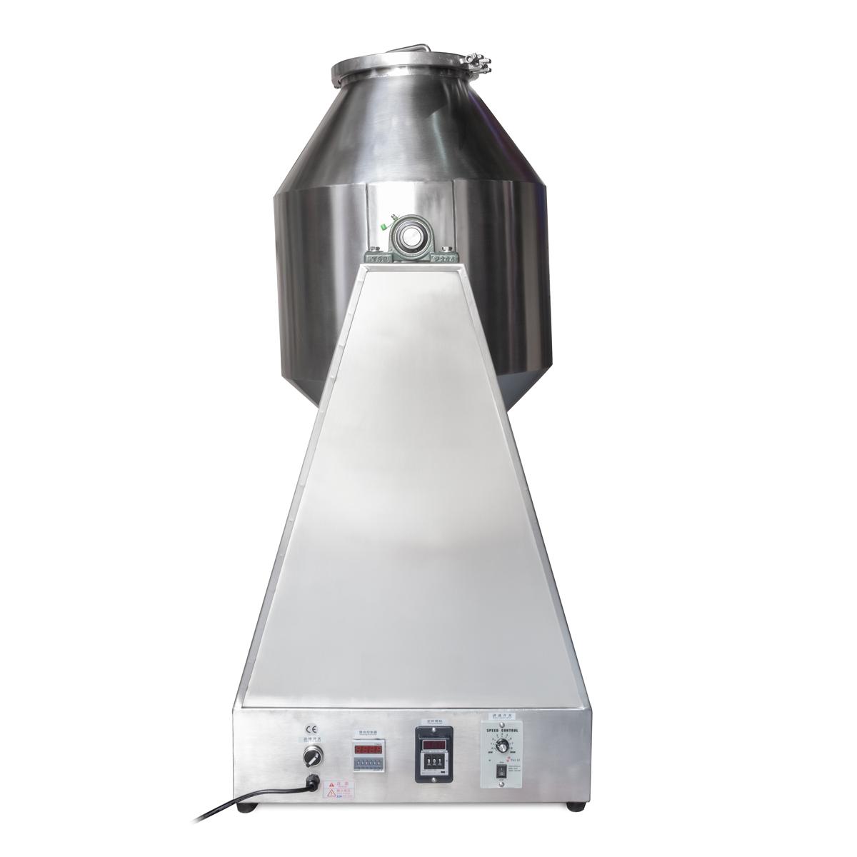 Priemyselný / potravinársky zmiešavač suchých sypkých látok a materiálov do hmotnosti 25 kg.